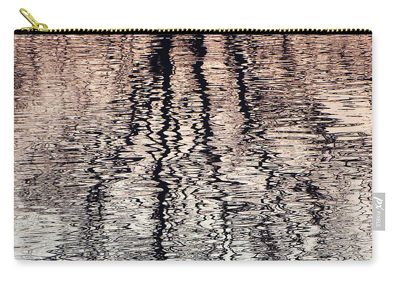 Waves Carry-all Pouch featuring the photograph Rippled Reflection by J R  Seymour