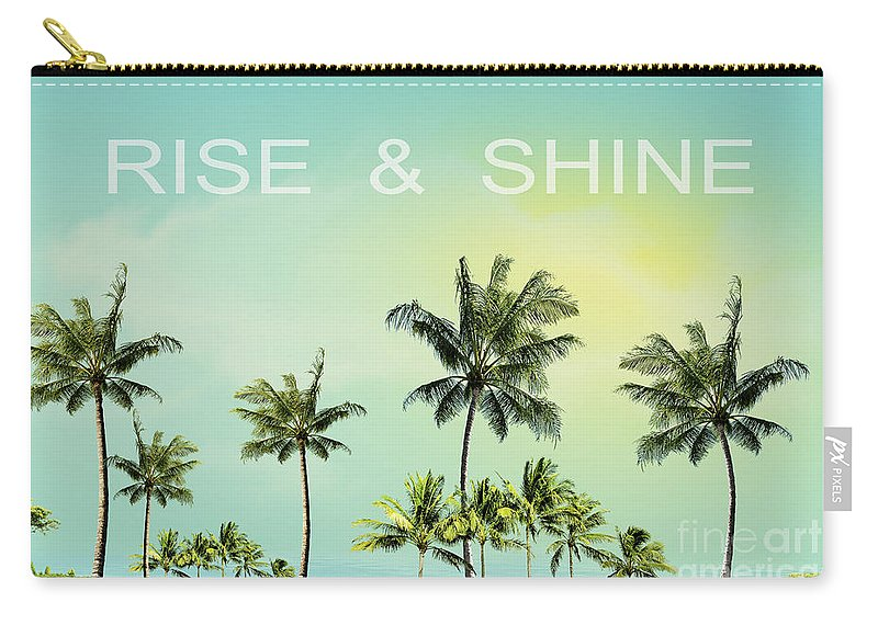 Venice Beach Carry-all Pouch featuring the photograph Rise And Shine by Mark Ashkenazi