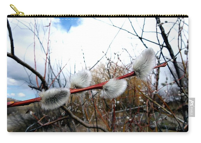Rite Of Spring Carry-all Pouch featuring the photograph Rite Of Spring by Will Borden
