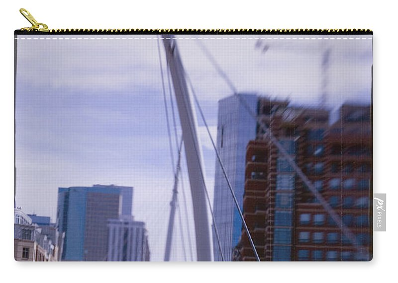 Denver Carry-all Pouch featuring the photograph River Front Park by Jeffery Ball