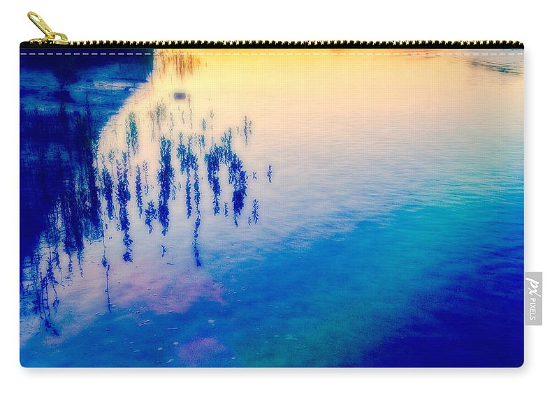 River Carry-all Pouch featuring the photograph River Musing by Anthony Robinson