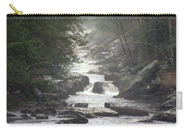River Carry-all Pouch featuring the photograph River Run by Richard Rizzo