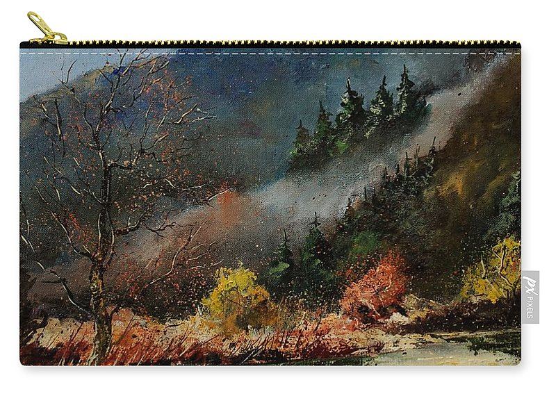River Carry-all Pouch featuring the painting River Semois by Pol Ledent
