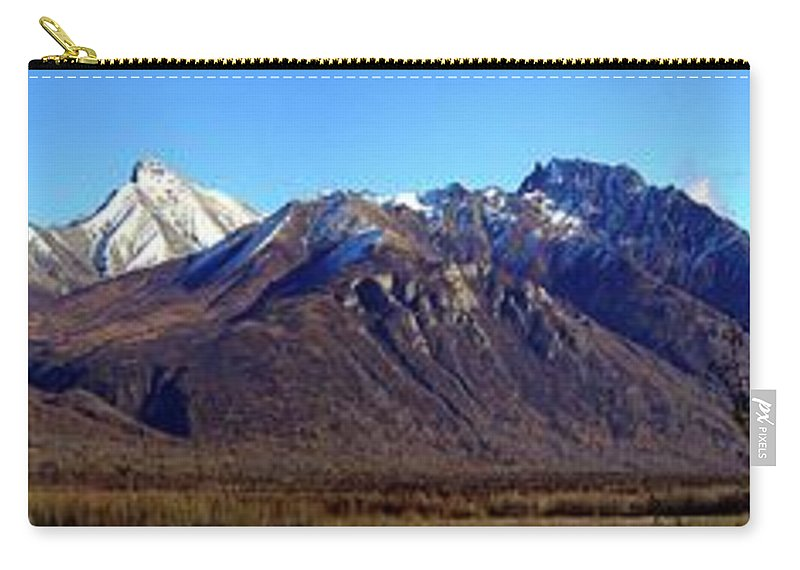 Panorama Carry-all Pouch featuring the photograph River View by Ron Bissett