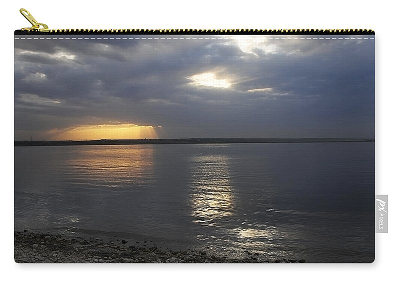 Art Carry-all Pouch featuring the photograph River Volga1 by Svetlana Sewell