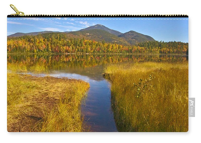 River Carry-all Pouch featuring the photograph Rivulet by Amanda Jones