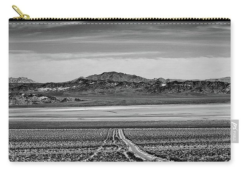 California Carry-all Pouch featuring the digital art Road To ??? by Stevie Benintende