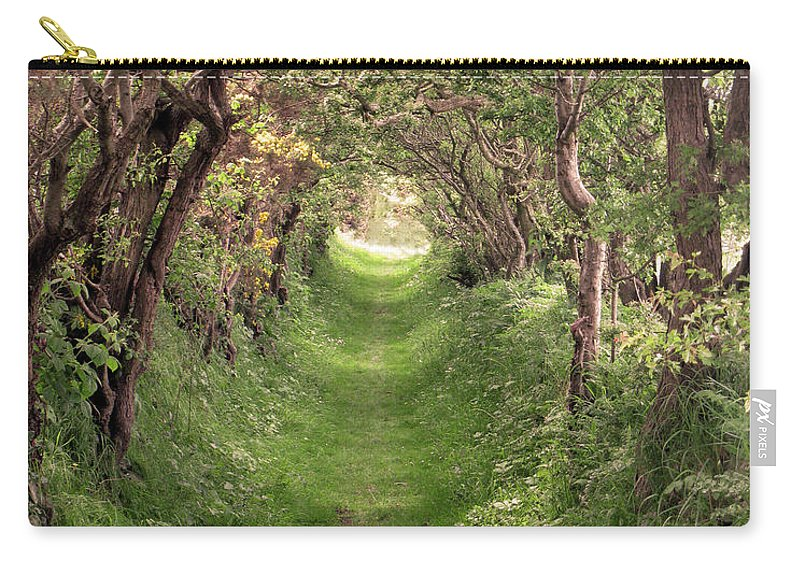 Ireland Carry-all Pouch featuring the photograph Road To Ballynoe by Rosalie Rodriguez