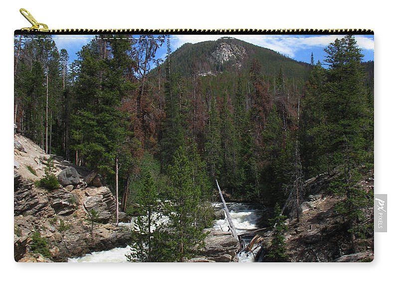 Colorado Carry-all Pouch featuring the photograph Roar by Amanda Barcon