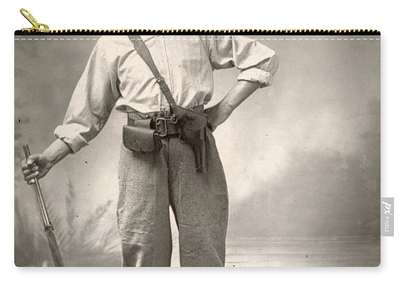1880 Carry-all Pouch featuring the painting Robert Henry Nelson by Granger