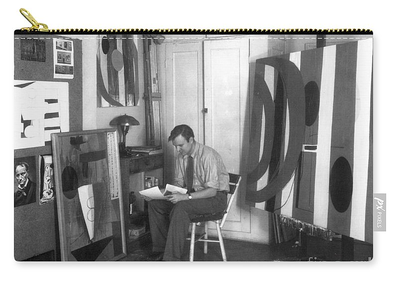 20th Century Carry-all Pouch featuring the photograph Robert Motherwell by Granger