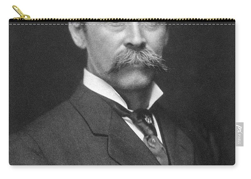 1910s Carry-all Pouch featuring the painting Robert Peary (1856-1920) by Granger