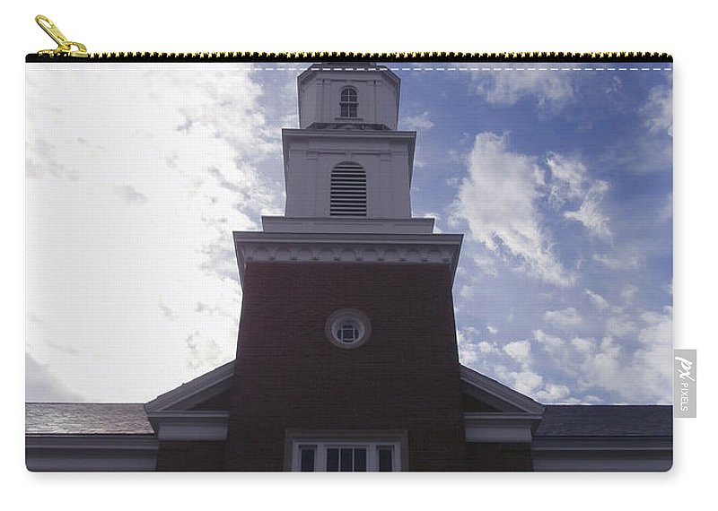 Robertson Hall Carry-all Pouch featuring the photograph Robertson Hall - Butler University by Dan McCafferty