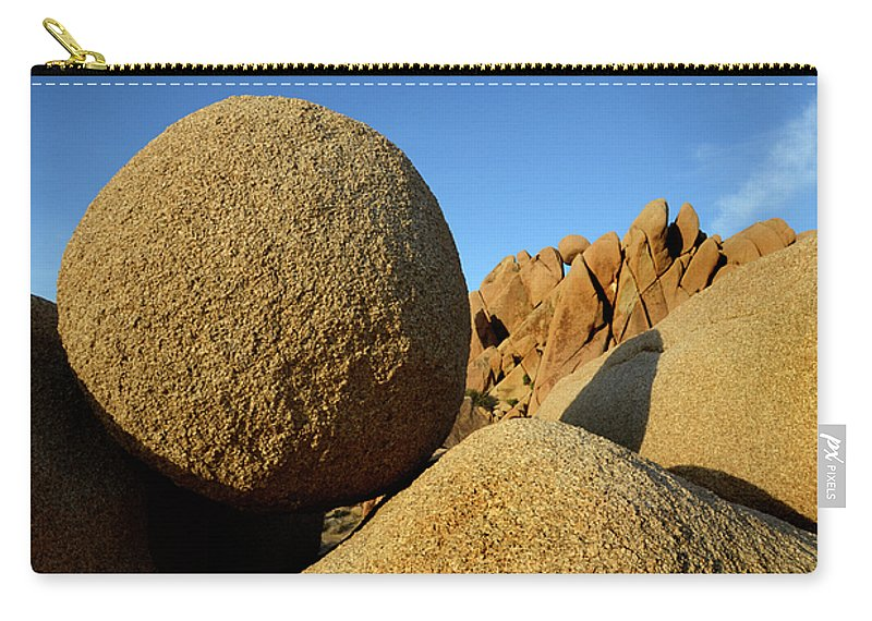 Joshua Tree National Park Carry-all Pouch featuring the photograph Rock And Roll by Bob Christopher
