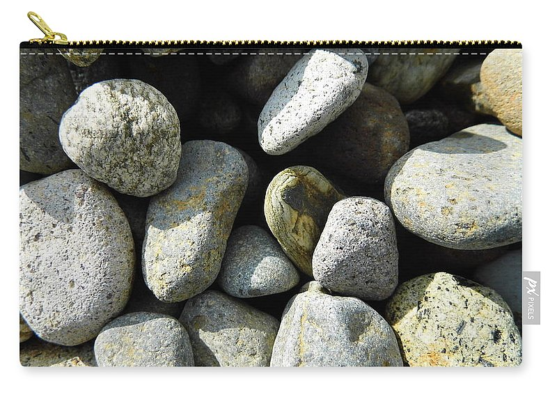 Rock Carry-all Pouch featuring the digital art Rocks by Palzattila