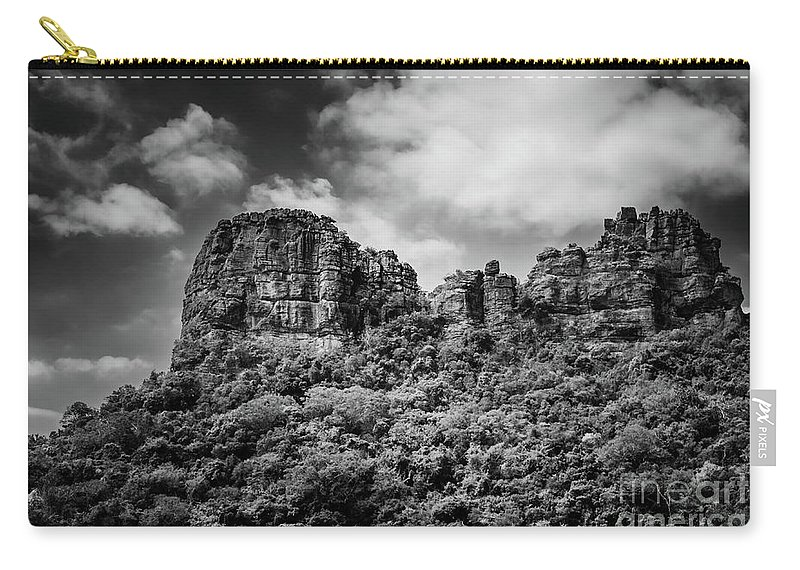Michelle Meenawong Carry-all Pouch featuring the photograph Rocky Landscape by Michelle Meenawong