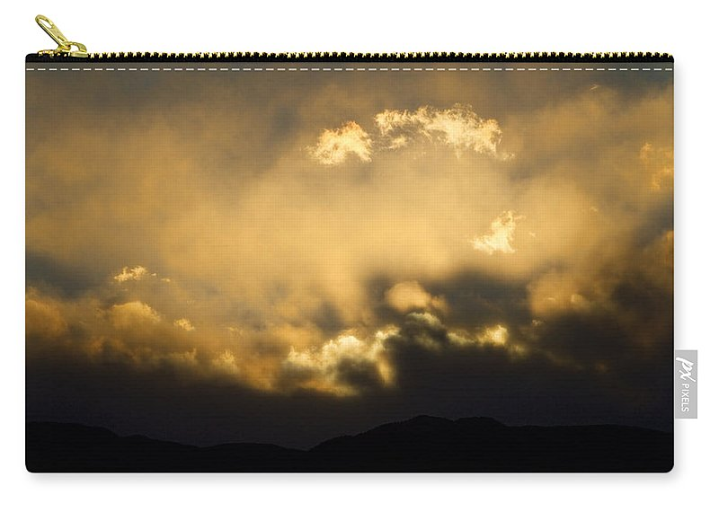 Colorado Carry-all Pouch featuring the photograph Rocky Mountain Continental Divide Sunset by James BO Insogna