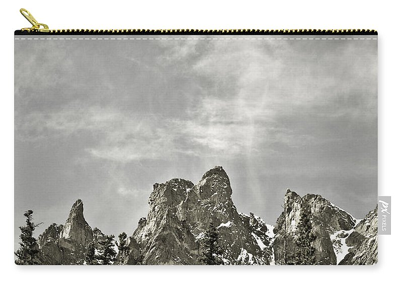 Colorado Carry-all Pouch featuring the photograph Rocky Mountain High by Marilyn Hunt