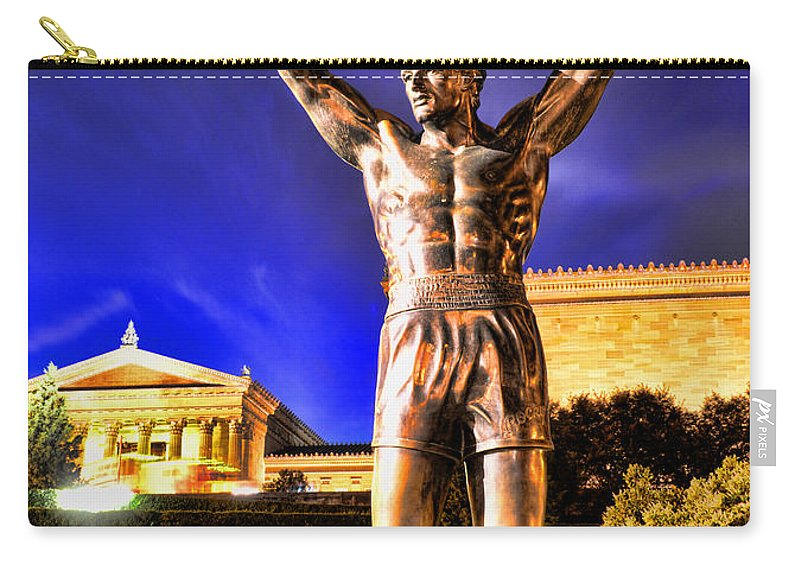 Rocky Carry-all Pouch featuring the photograph Rocky by Paul Ward