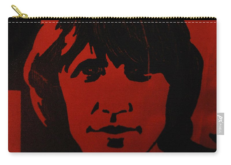Abstract Carry-all Pouch featuring the photograph Roger Waters by Rob Hans