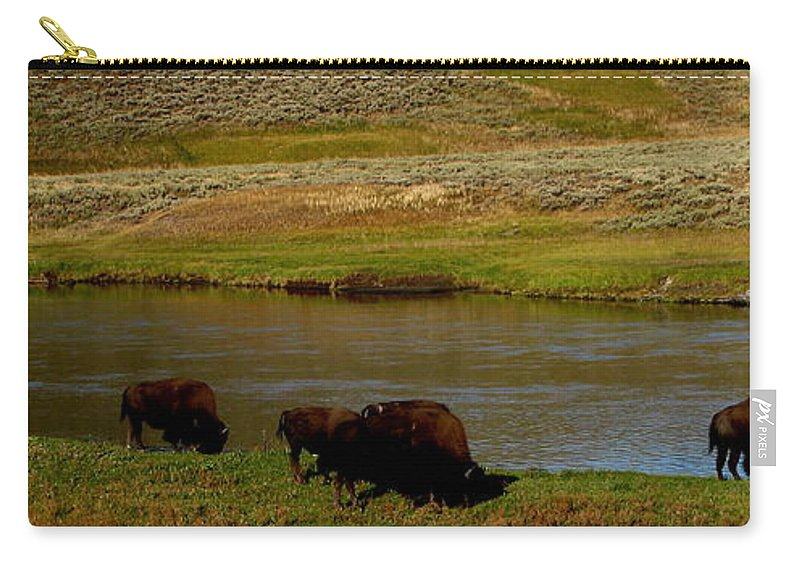Patzer Carry-all Pouch featuring the photograph Roll On Roll On by Greg Patzer