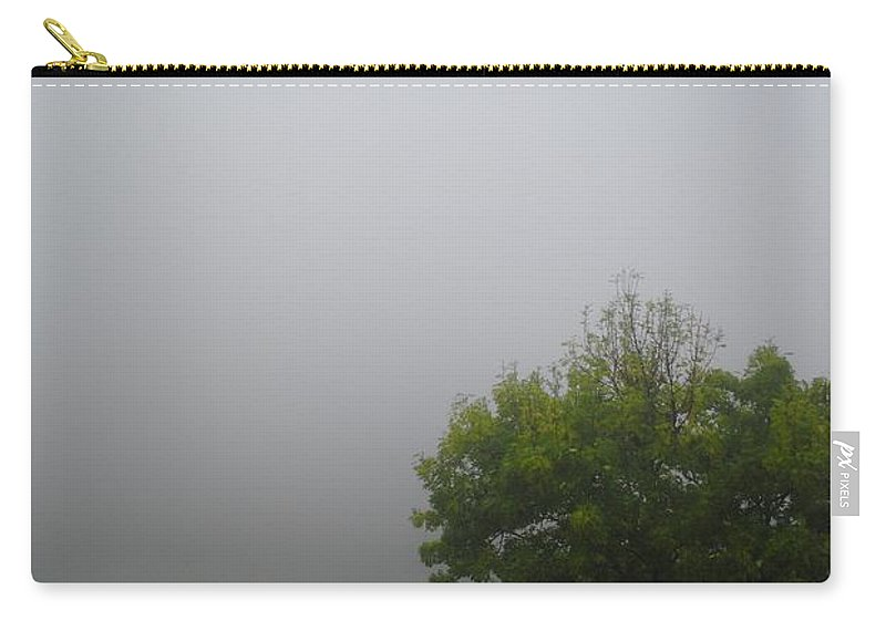 Mist Carry-all Pouch featuring the photograph Rolling In by Margaret Fronimos
