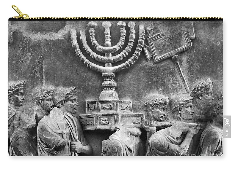 Ancient Carry-all Pouch featuring the photograph Rome: Arch Of Titus by Granger