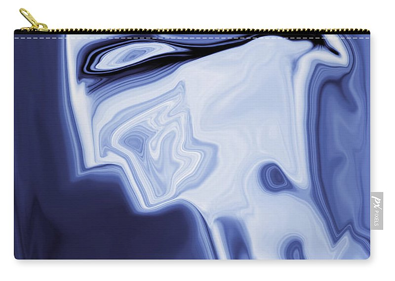 Art Carry-all Pouch featuring the digital art Romeo by Rabi Khan