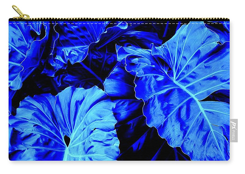 Blue Carry-all Pouch featuring the photograph Romney Blue by Ian MacDonald