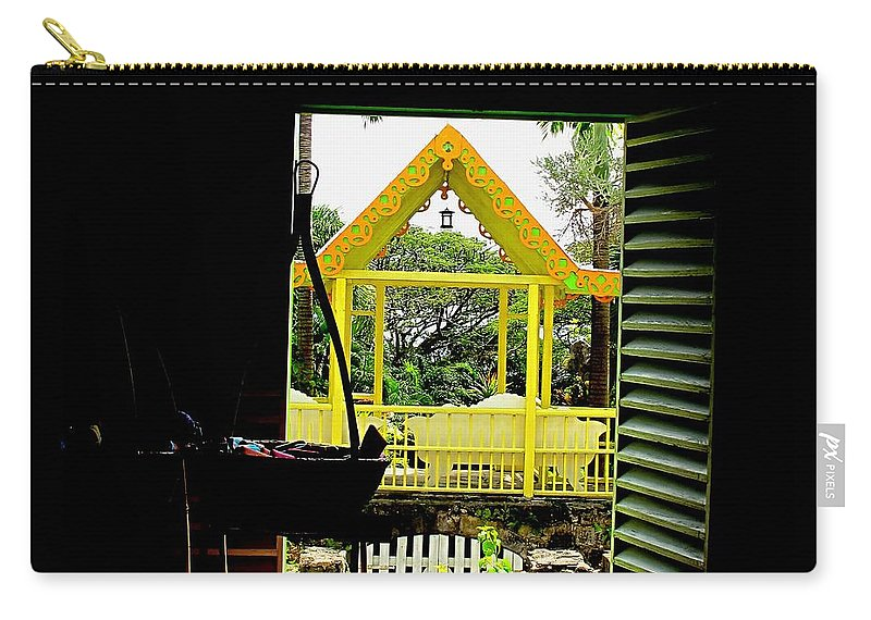 Romney Carry-all Pouch featuring the photograph Romney Manor by Ian MacDonald