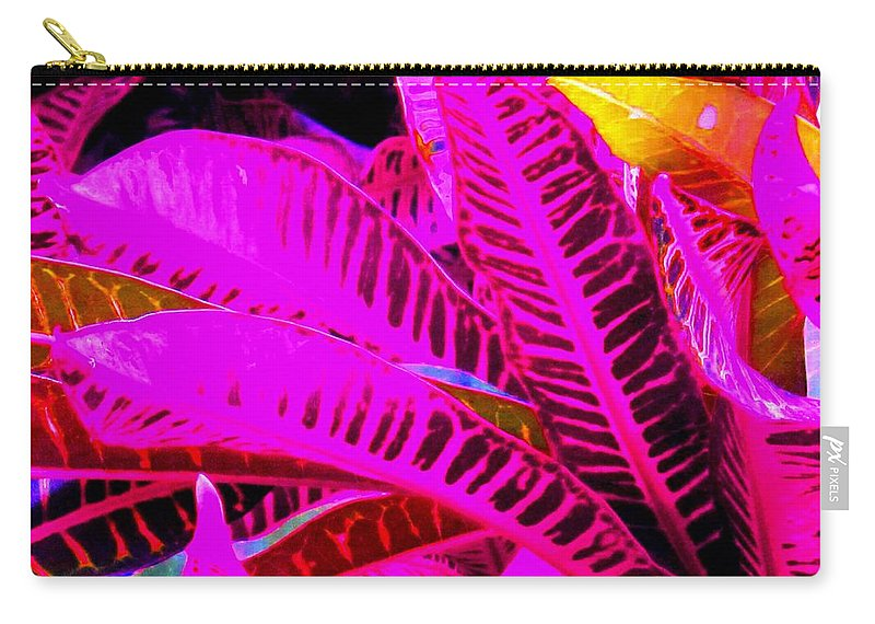 Pink Carry-all Pouch featuring the photograph Romney Pink by Ian MacDonald