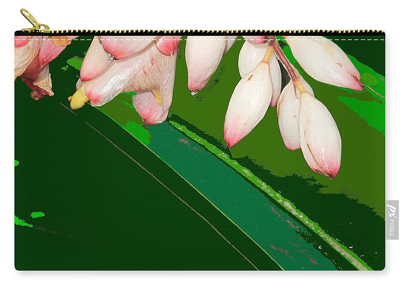 Flowers Carry-all Pouch featuring the photograph Romney White by Ian MacDonald