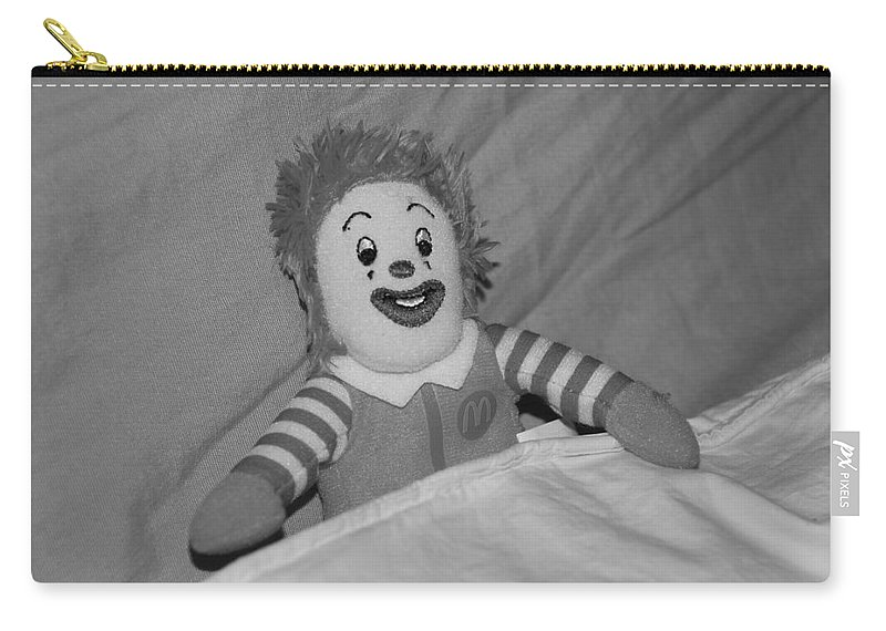 Ronald Mcdonald Carry-all Pouch featuring the photograph Ronald Mcdonald by Rob Hans