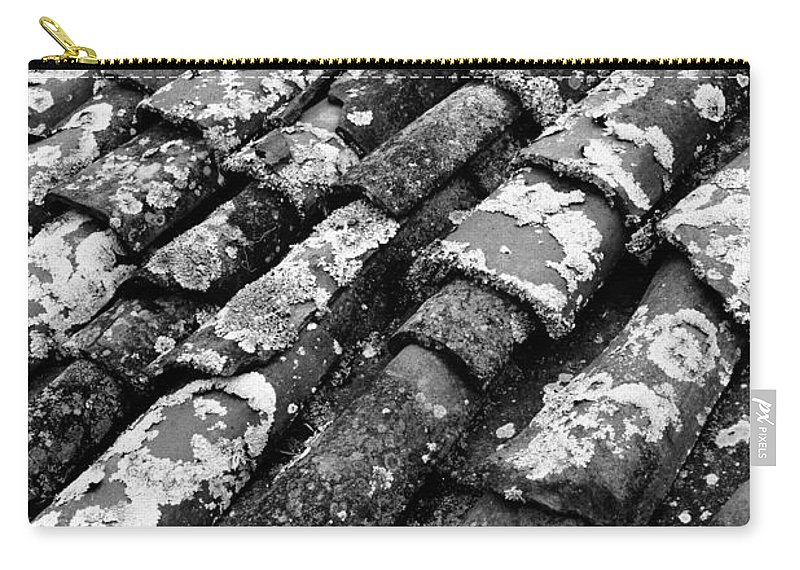 Ceramics Carry-all Pouch featuring the photograph Roof Tiles by Gaspar Avila