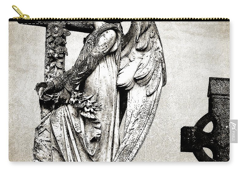Ireland Carry-all Pouch featuring the photograph Roscommon Angel No 1 by Teresa Mucha
