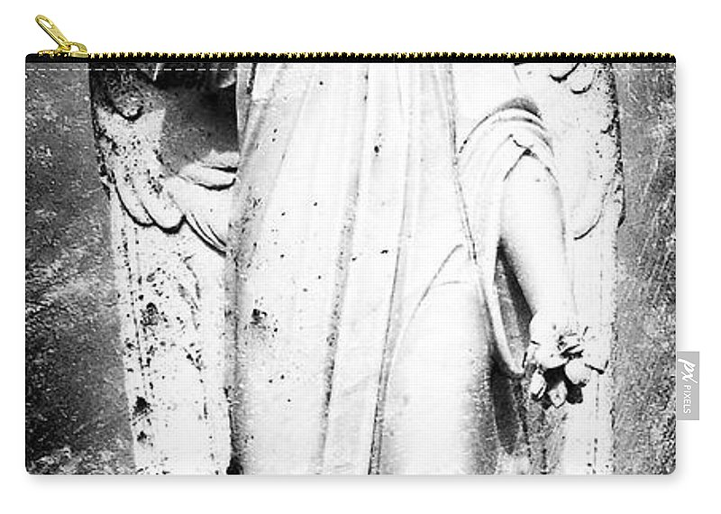 Roscommon Carry-all Pouch featuring the photograph Roscommon Angel No 2 by Teresa Mucha