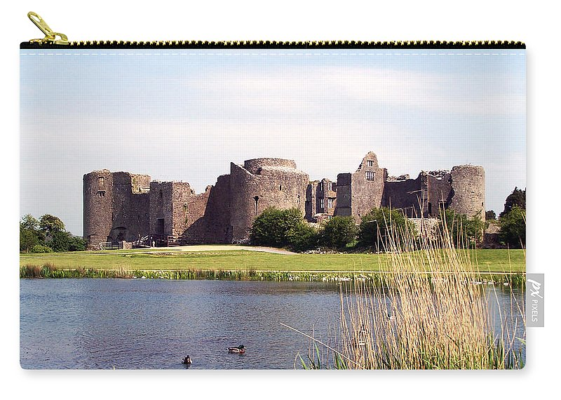 Roscommon Carry-all Pouch featuring the photograph Roscommon Castle Ireland by Teresa Mucha