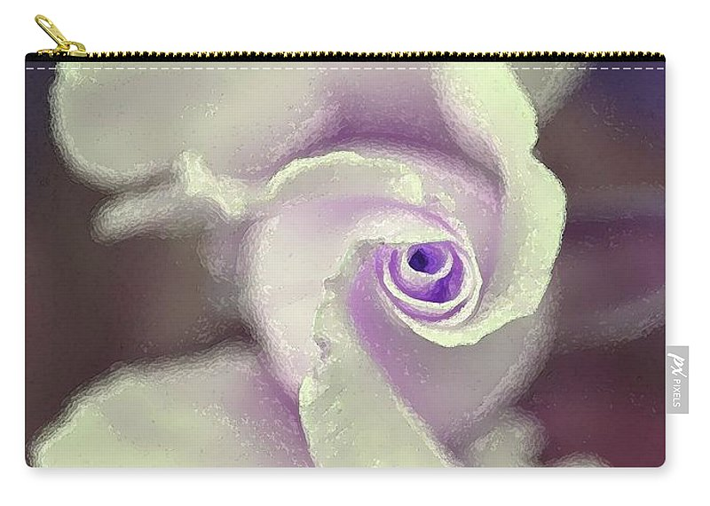 Floral Carry-all Pouch featuring the photograph Rose 164 by Pamela Cooper