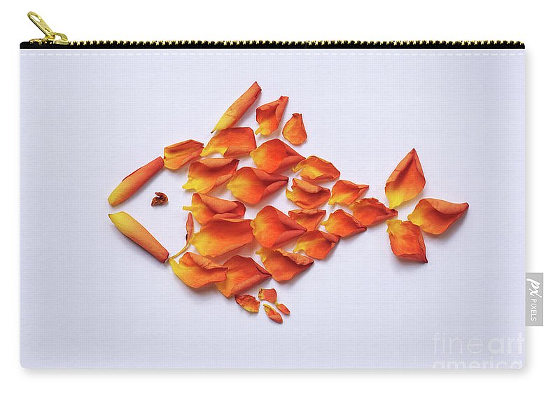 Rose Carry-all Pouch featuring the photograph Rose Fish by Olga Sorokina