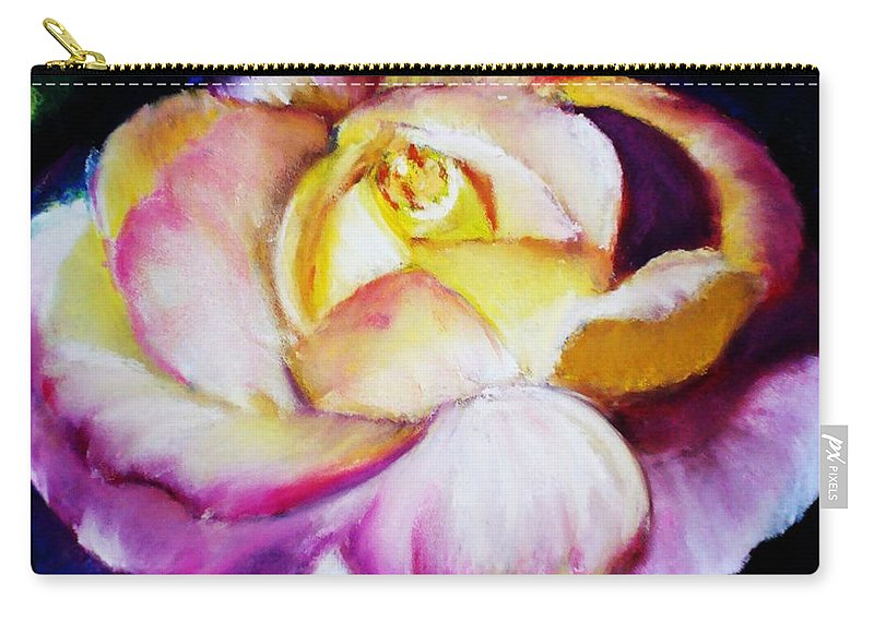 Rose Carry-all Pouch featuring the print Rose by Melinda Etzold