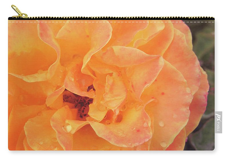 Rose Carry-all Pouch featuring the photograph Rose Of Seville by JAMART Photography