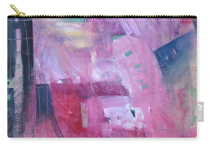 Rose Carry-all Pouch featuring the painting Rose Room by Tim Nyberg