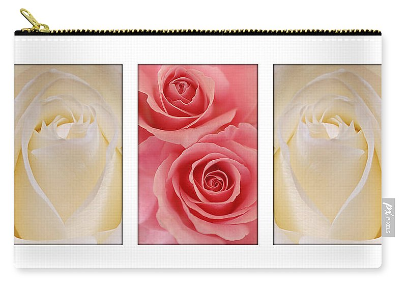 Rose Carry-all Pouch featuring the photograph Rose Series by Jill Reger