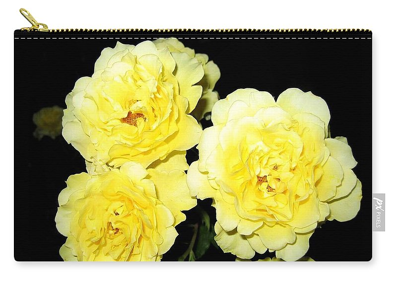 Roses Carry-all Pouch featuring the photograph Roses 11 by Will Borden
