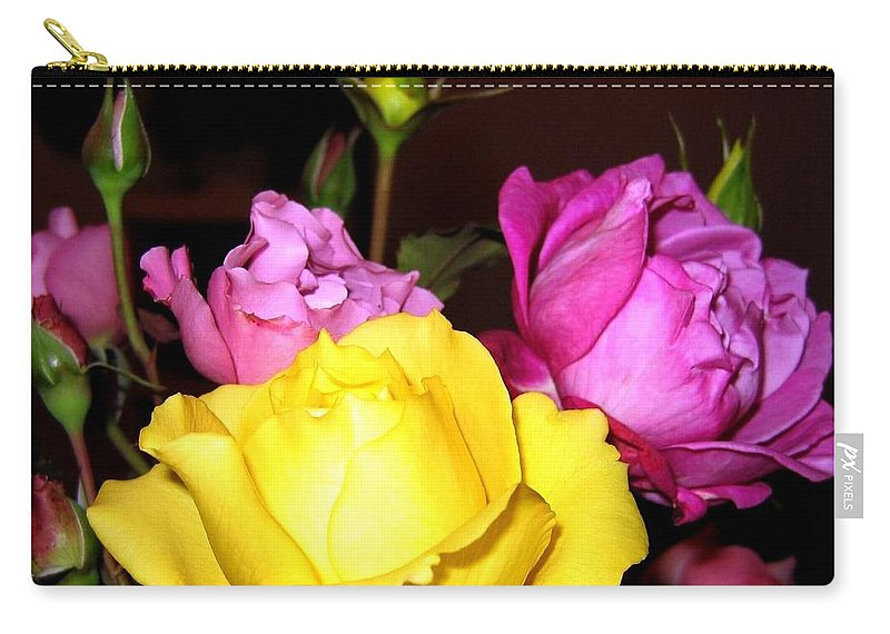 Roses Carry-all Pouch featuring the photograph Roses 4 by Will Borden