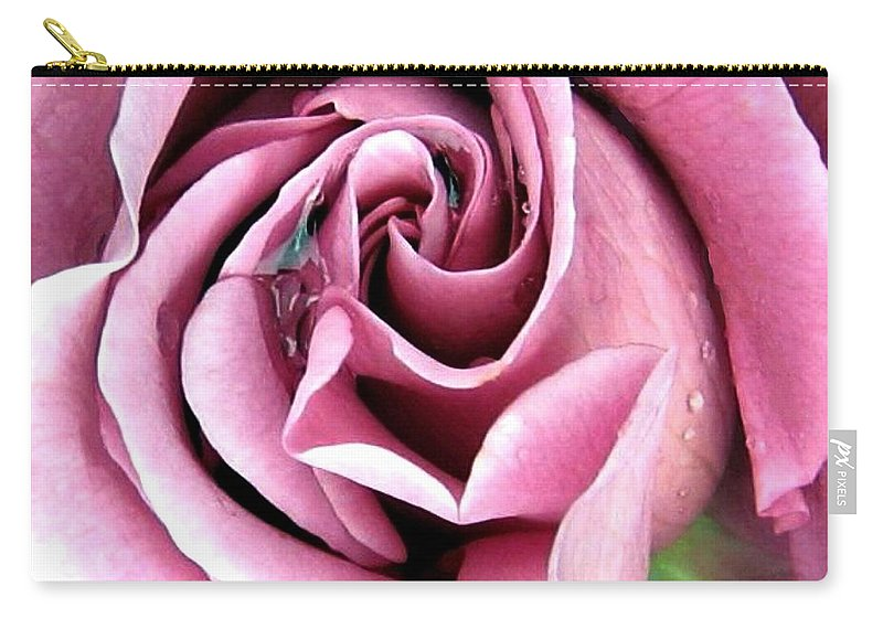 Romantic Carry-all Pouch featuring the photograph Roses Roses by Will Borden