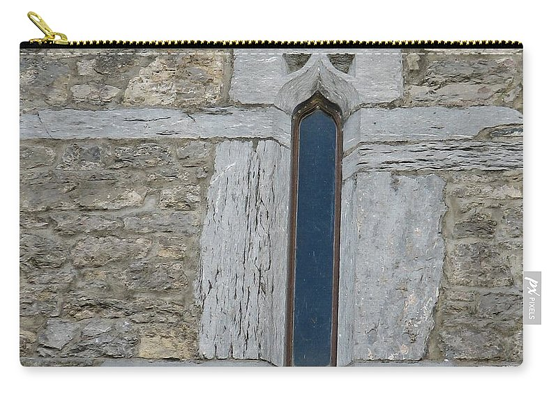 Ross Castle Carry-all Pouch featuring the photograph Ross Castle by Kelly Mezzapelle