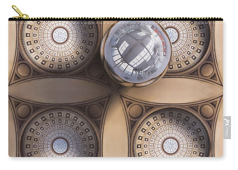 Scott Norris Photography Carry-all Pouch featuring the photograph Rotunda 4 Ways by Scott Norris