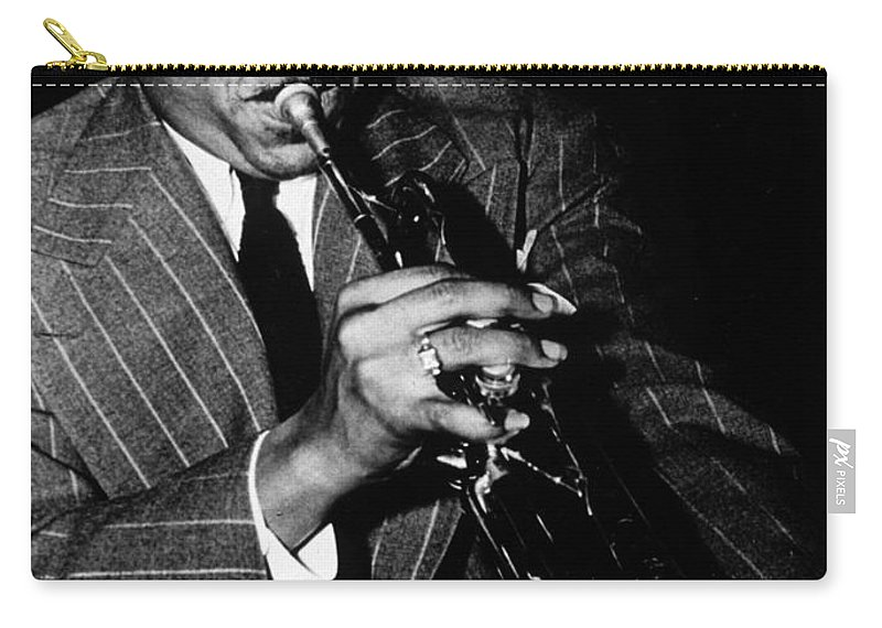 Music Carry-all Pouch featuring the photograph Roy Hines by American School