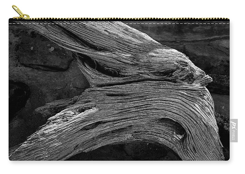 Royal Carry-all Pouch featuring the photograph Royal Deadwood Study 2 by Robert Meyers-Lussier